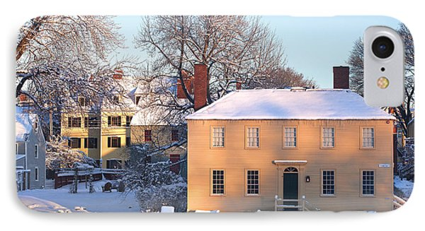Strawbery Banke In Portsmouth IPhone Case by Eric Gendron