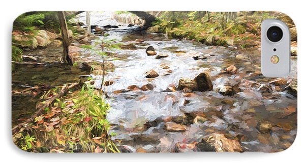Stream In The Fall IPhone Case by Jon Glaser