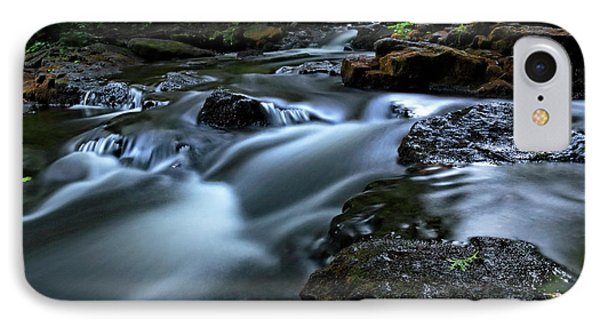 Stream Over Rocks IPhone Case by Charline Xia