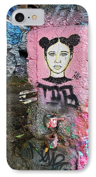 IPhone Case featuring the photograph Street Art by Bill Thomson