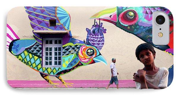Street Art Phone Case by Marji Lang