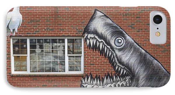 Street Art Portsmouth New Hampshire IPhone Case by Edward Fielding