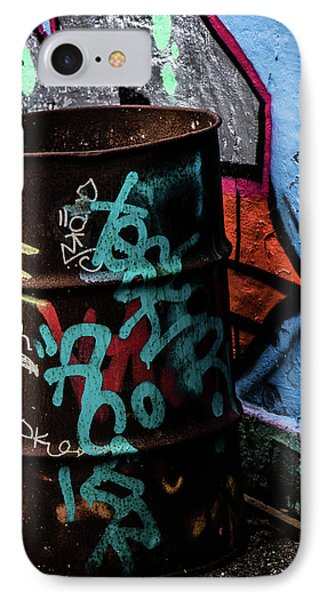 IPhone Case featuring the photograph Street Gallery by Odd Jeppesen