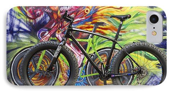 Street Graffiti Rider IPhone Case