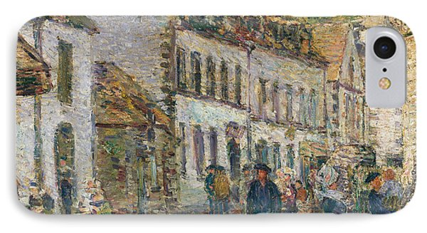 Street In Pont Aven IPhone Case