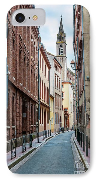 IPhone Case featuring the photograph Street In Toulouse by Elena Elisseeva