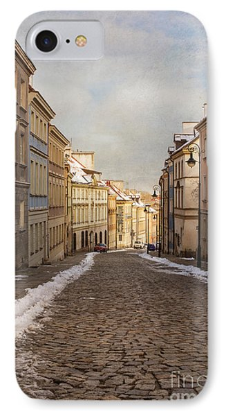 IPhone Case featuring the photograph Street In Warsaw, Poland by Juli Scalzi