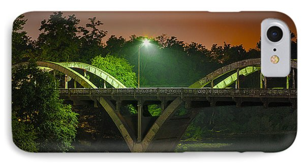 Street Light On Rogue River Bridge IPhone Case