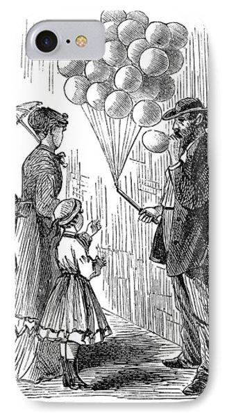 Street Peddler, 1868 IPhone Case