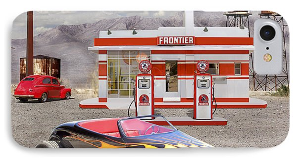 Street Rod At Frontier Station 2 IPhone Case by Mike McGlothlen