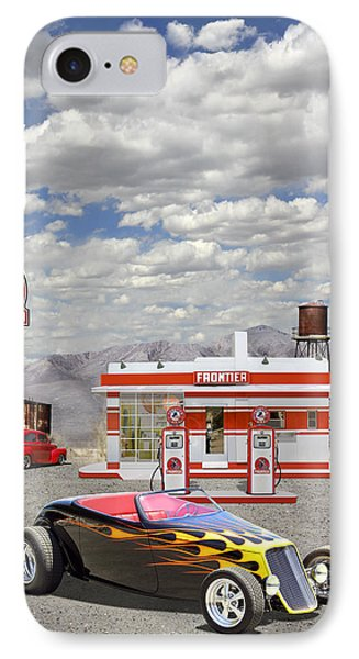 Street Rod At Frontier Station IPhone Case by Mike McGlothlen