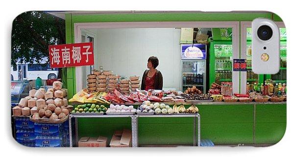 Street Vendor  Beijing Phone Case by Thomas Marchessault