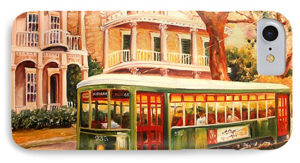 Streetcar In The Garden District IPhone Case