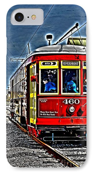 IPhone Case featuring the photograph Streetcar by Janice Spivey