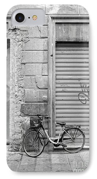 Streets Of Florence Italy IPhone Case by Edward Fielding