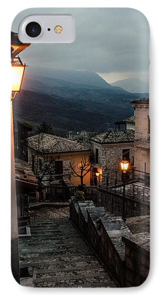 Streets Of Italy - Caramanico IPhone Case by Andrea Mazzocchetti