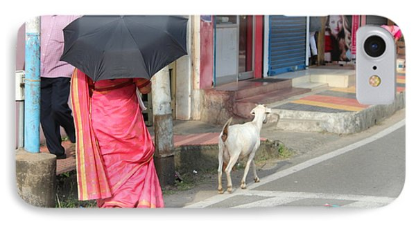Streets Of Kochi IPhone Case