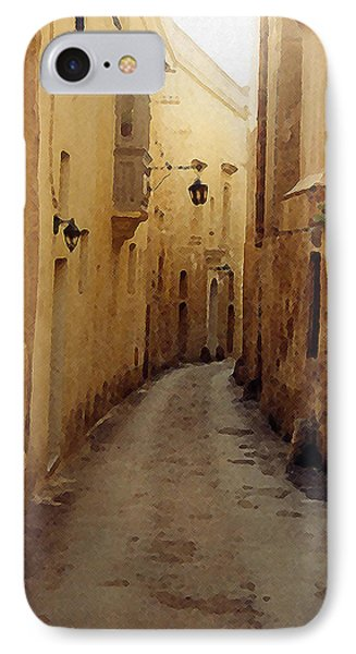 IPhone Case featuring the photograph Streets Of Malta by Debbie Karnes