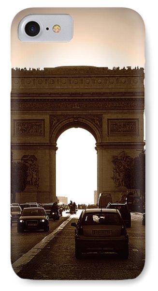 Streets Of Paris Phone Case by Kamil Swiatek
