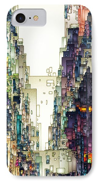 Streetscape 1 IPhone Case by David Hansen