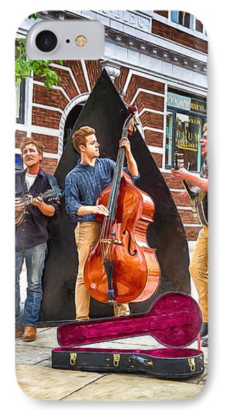 String Trio IPhone Case