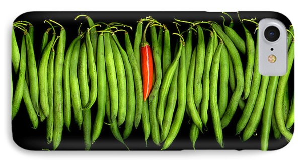 Stringbeans And Chilli IPhone Case by Christian Slanec