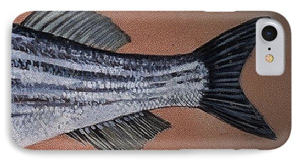 Striped Bass IPhone Case by Andrew Drozdowicz