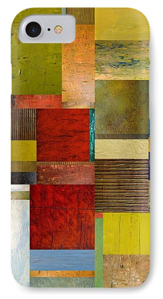 Strips And Pieces L Phone Case by Michelle Calkins