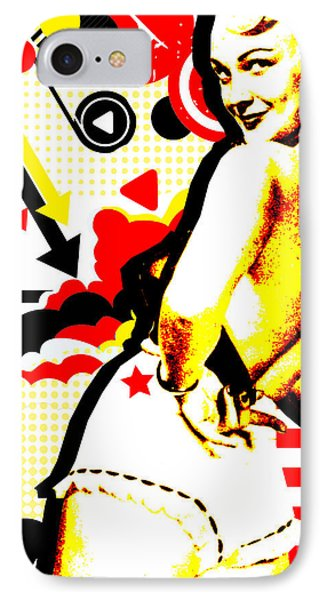 Striptease Phone Case by Chris Andruskiewicz