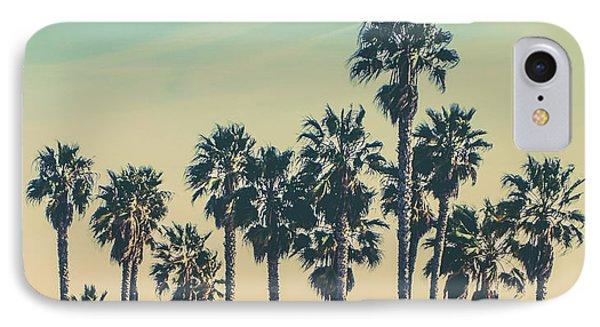Venice Beach iPhone 7 Case - Stroll Down Venice Beach by Az Jackson