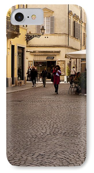 Strolling About Parma Phone Case by Rae Tucker