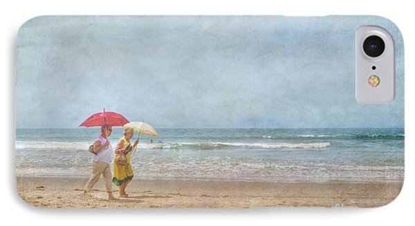 IPhone Case featuring the photograph Strolling On The Beach by David Zanzinger