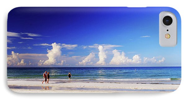 IPhone Case featuring the photograph Strolling The Beach by Gary Wonning