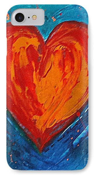 Strong Heart IPhone Case by Diana Bursztein