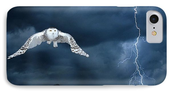 Stronger Than The Storm IPhone Case by Heather King