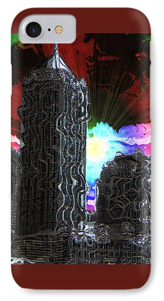 Structural Dissonance IPhone Case by Iowan Stone-Flowers