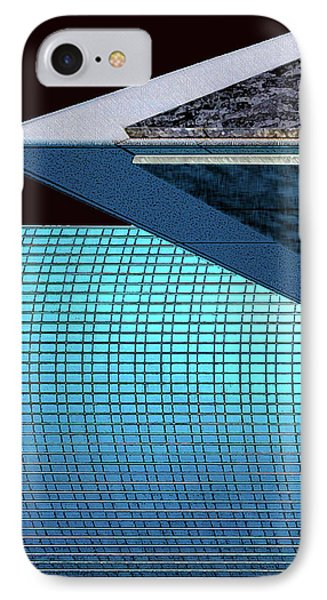 Structures West 3 Phone Case by Bruce Iorio