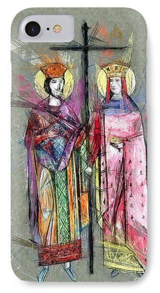 Sts. Constantine And Helen IPhone Case