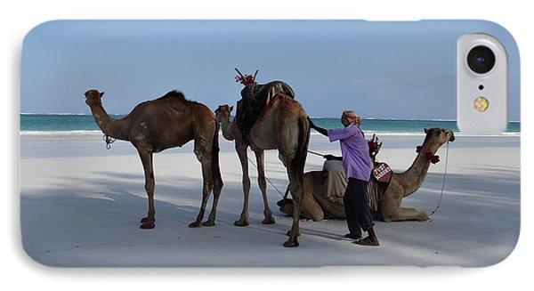 Stubborn Wedding Camels IPhone Case