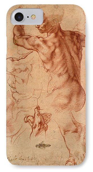 Michelangelo Studies For The Libyan Sibyl