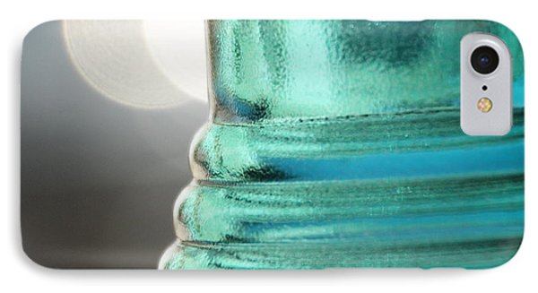 IPhone Case featuring the photograph Studies In Glass .. Bottle by Lynn England