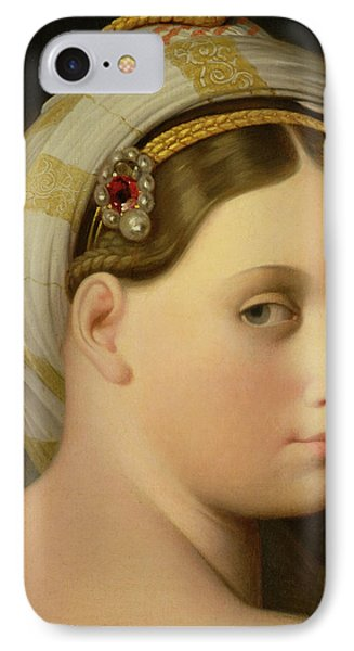 Study For An Odalisque IPhone Case by Ingres