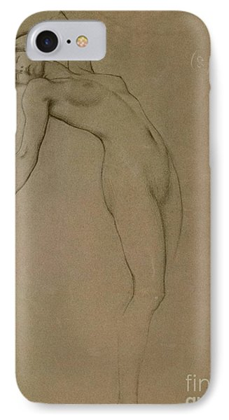 Study For Clyties Of The Mist IPhone Case by Herbert James Draper