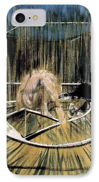 Study For Crouching Nude IPhone Case by Francis Bacon