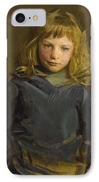Study For Harry Whiting Nephew Of The Artist IPhone Case