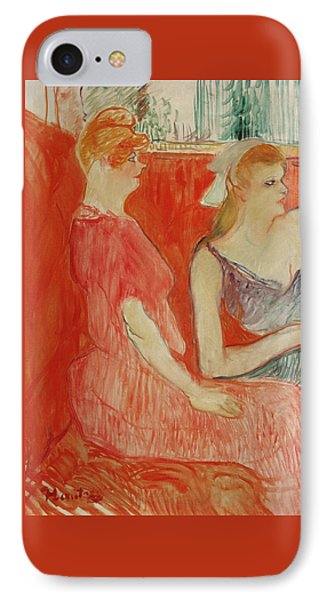 Study For In The Salon On The Rue Des Moulins IPhone Case