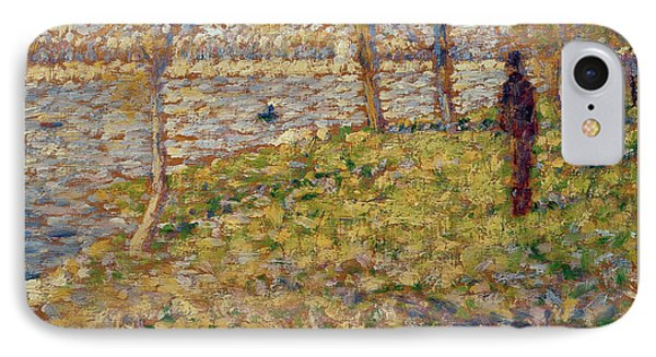 Study For Sunday Afternoon On The Island Of La Grand Jatte IPhone Case