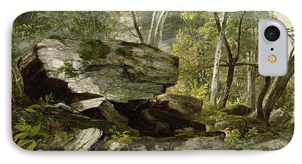 Study From Nature   Rocks And Trees IPhone Case