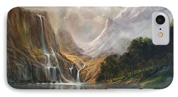 IPhone Case featuring the painting Study In Nature by Donna Tucker