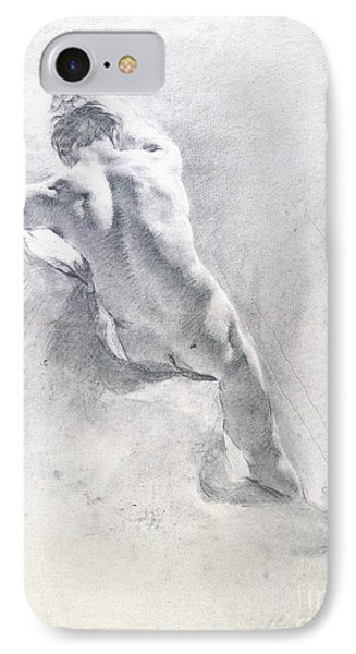 Study Of A Male Nude IPhone Case